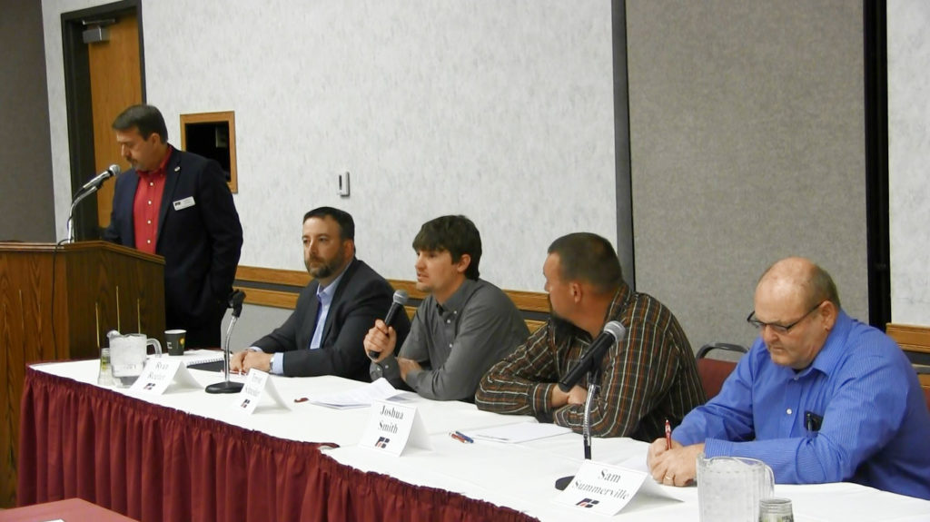 NPNRD candidates participate in local forum