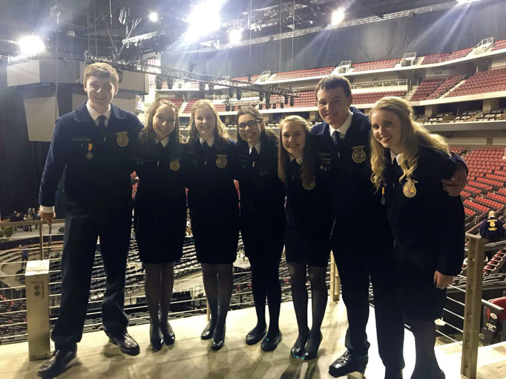 (Video) Nebraska FFA Selects 2018-2019 State Officer Team
