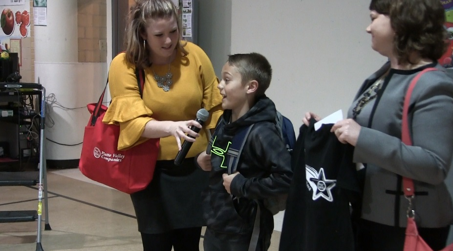 Lincoln Heights Elementary's Nolan Lambertson named Star Student of the Week