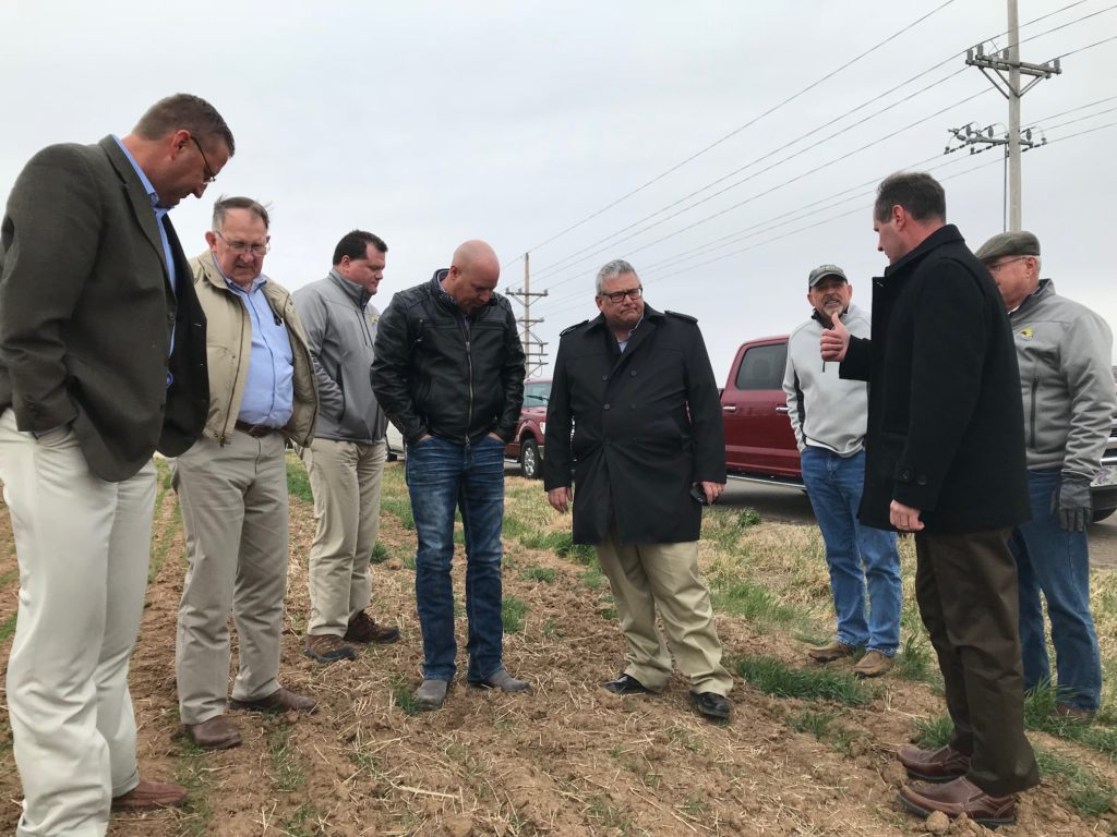 Lt. Governor Joins USDA Under Secretary in Visit to Drought Areas