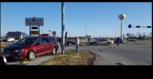 Two-vehicle crash in south Lexington