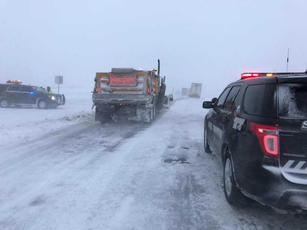 Roads in Western Nebraska Closed As Blizzard Sweeps Region