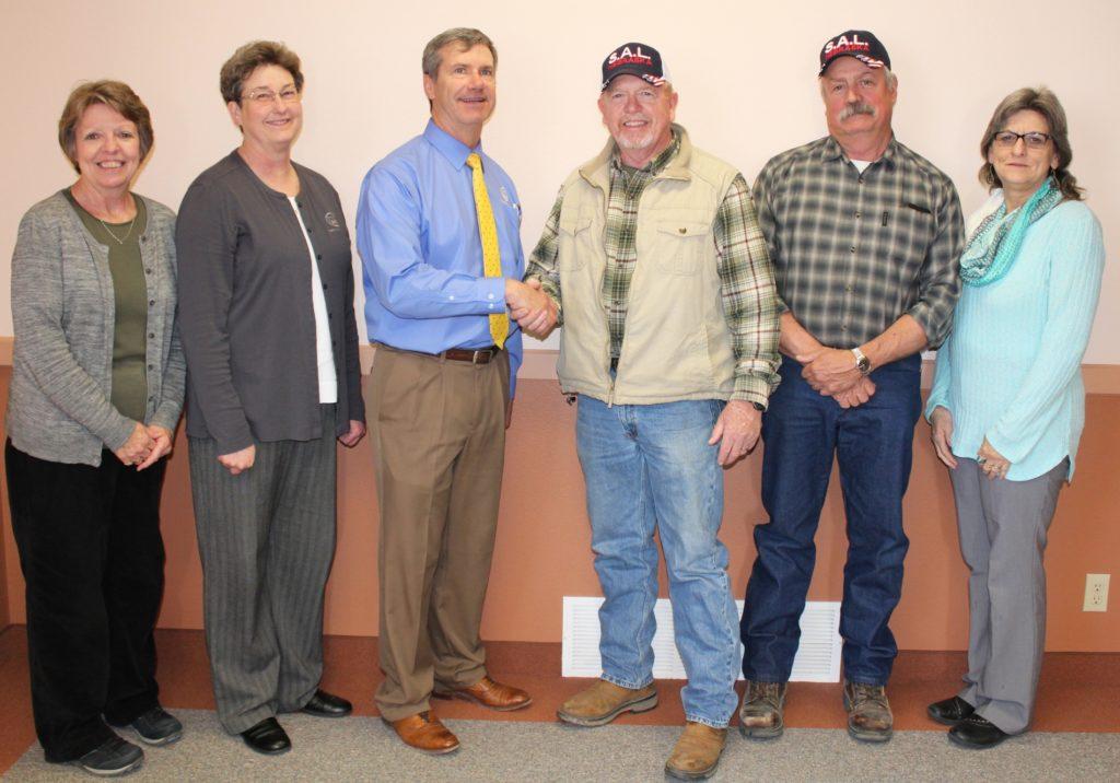 Platte Valley Companies donates to Bridgeport Sons of the American Legion