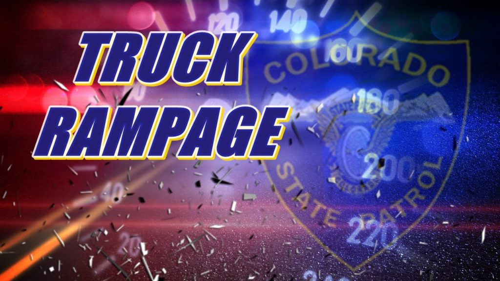 5 injured as stolen tractor-trailer rams cars in Colorado