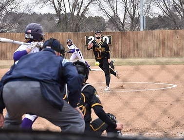 WSC Softball loses home doubleheader to Winona State