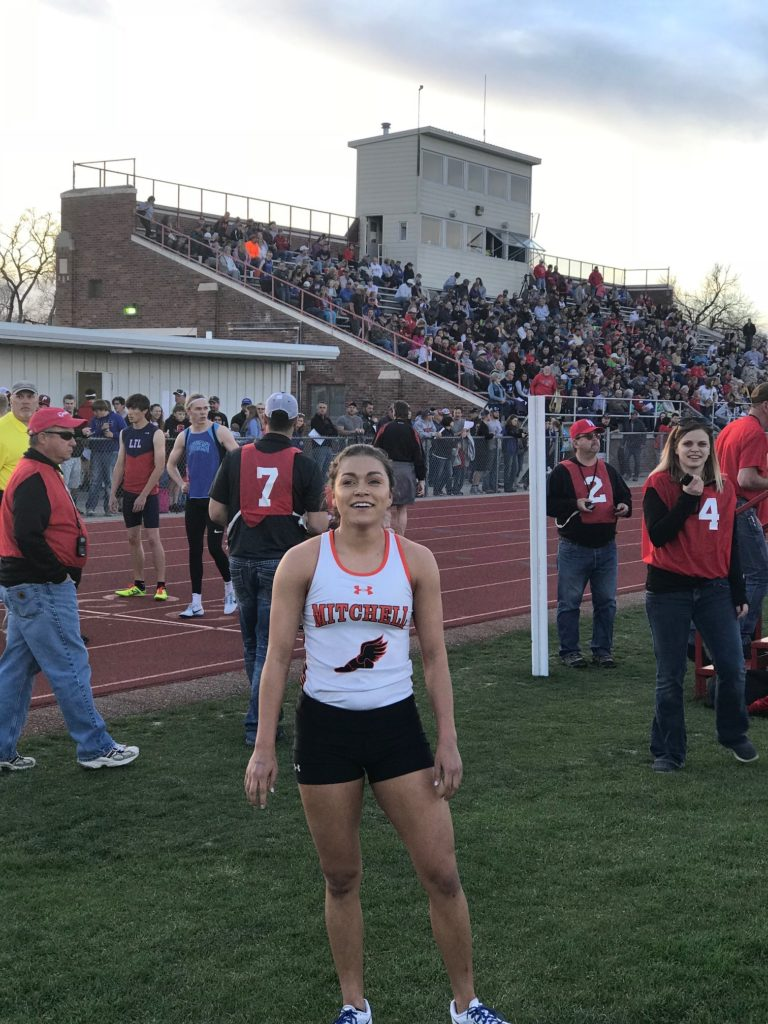 Track & Field: Mitchell girls, boys finish 2nd at C-9 meet