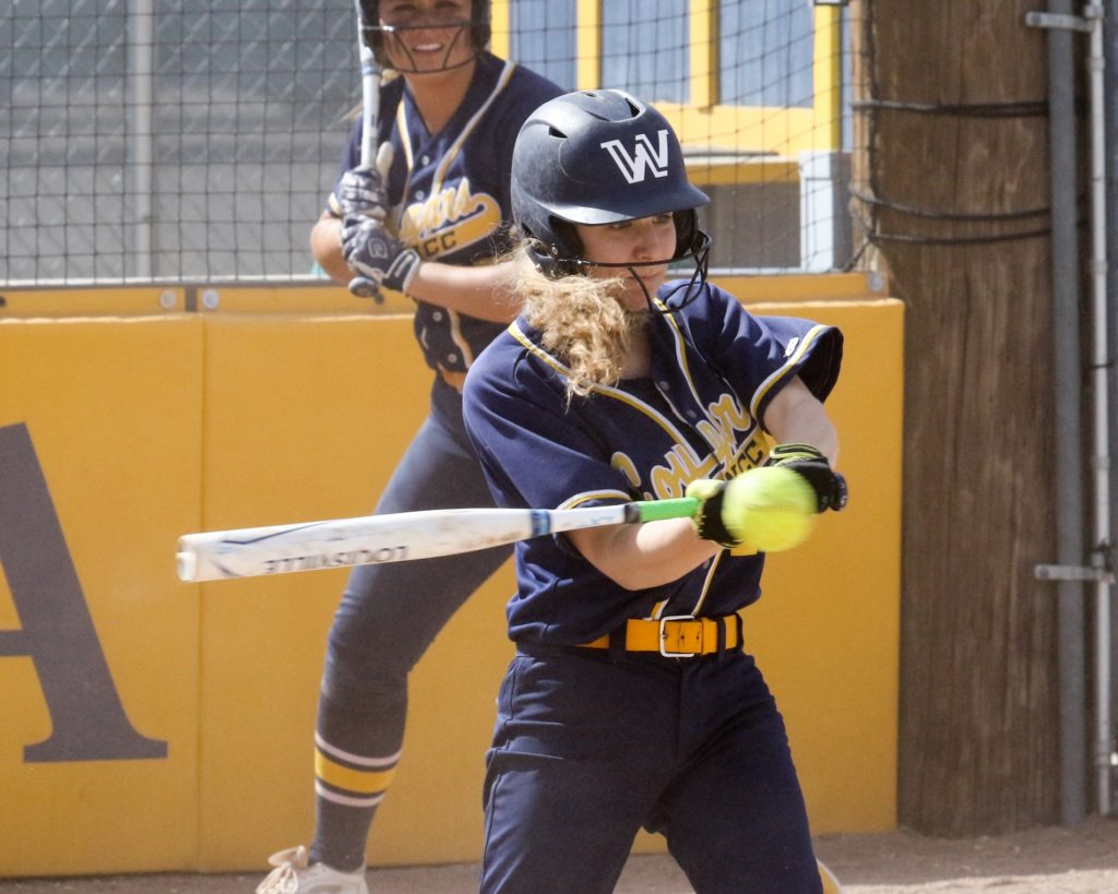 WNCC softball earns home sweep against North Platte