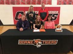 Weddle signs with Doane