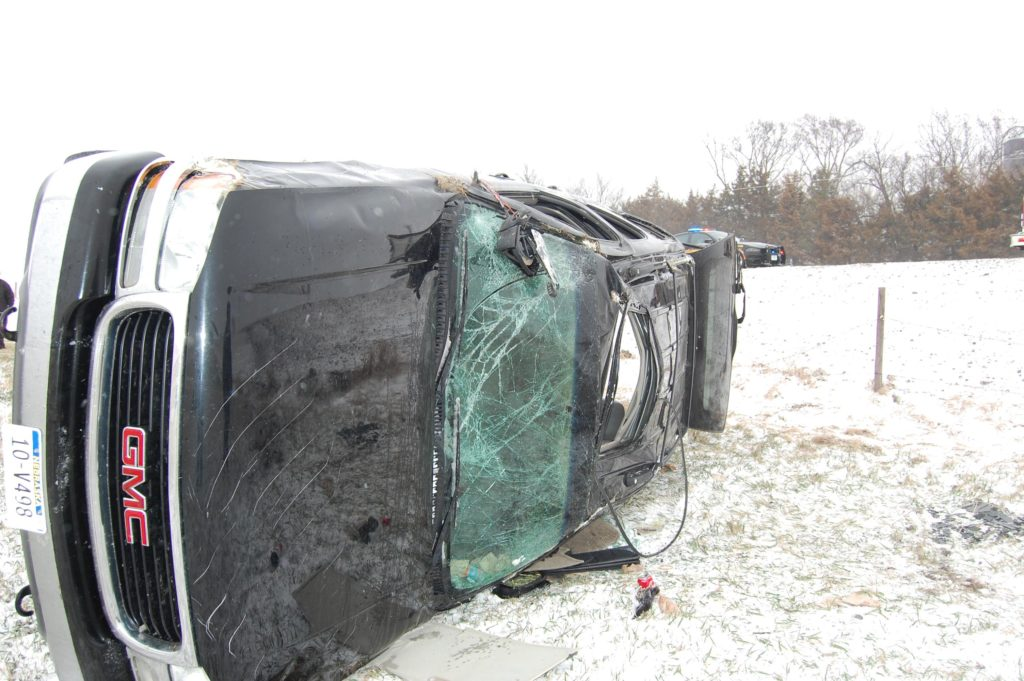 Winter Storm Causes Accidents And Road Closures In Stanton County