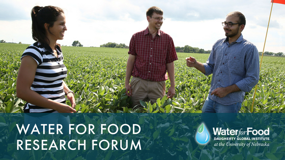 Forum highlights research by Nebraska's future leaders in securing water for food