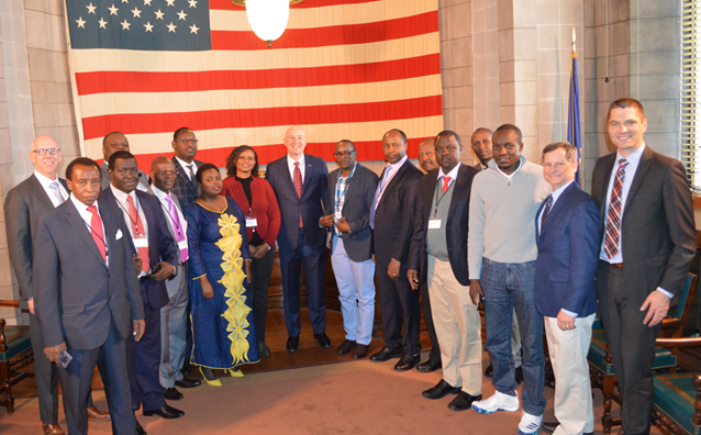 Gov. Ricketts Meets with Trade Delegation from Kenya