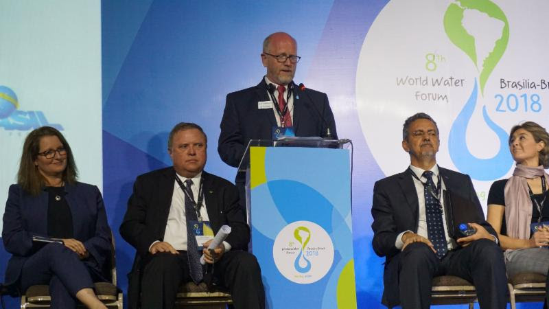Nebraska leads Water for Food discussions at the 8th World Water Forum in Brazil