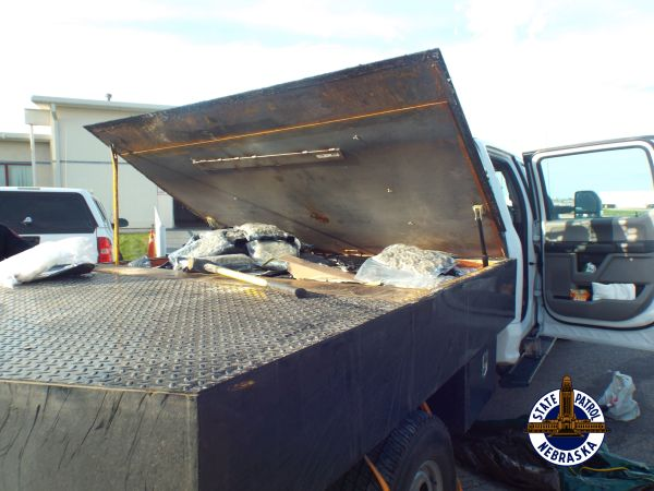 Troopers Find 263 LBs of Marijuana in Hidden Flatbed Compartment