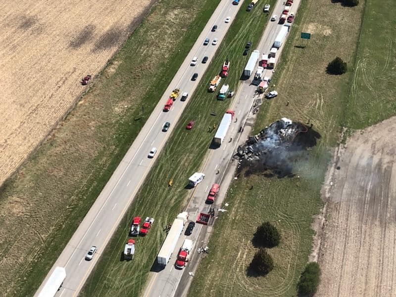 4 Iowa residents killed in Interstate 80 crash in Nebraska
