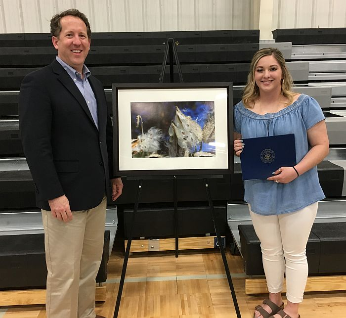 Smith Congratulates 2018 Congressional Art Competition Second Place Winner, Rilee Howard of Litchfield