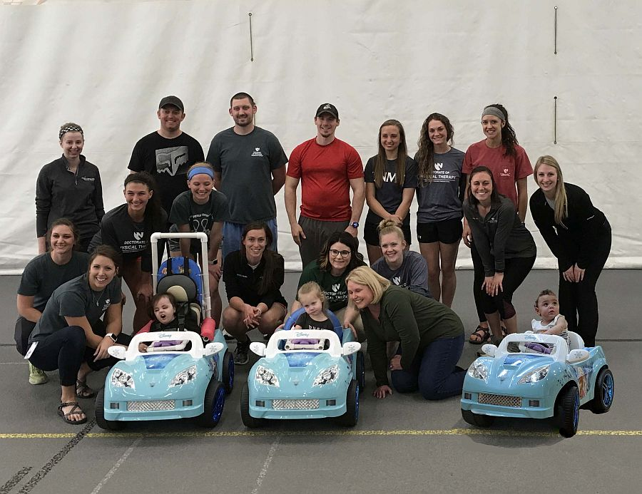 UNMC, UNK students build cars for kids with developmental disabilities