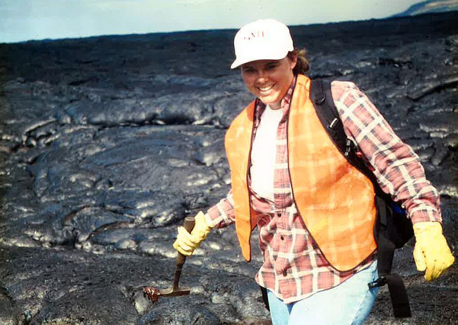 UNK's Beth Hinga learned about Kilauea volcano by living there