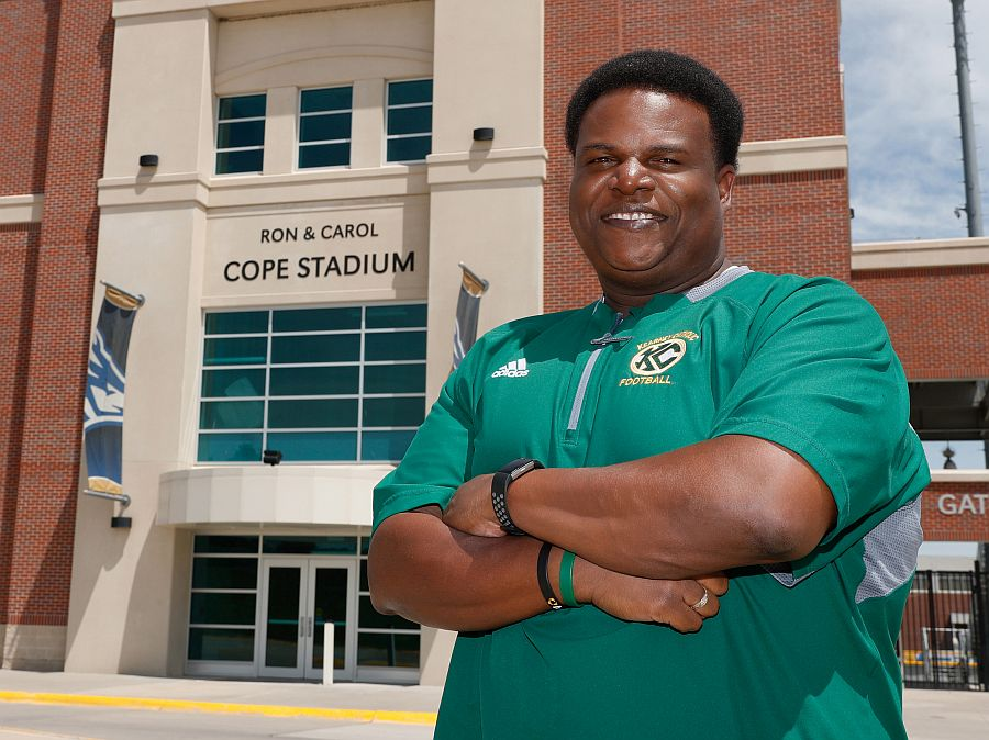 Football gave Shrine Bowl coach Rashawn Harvey chance to succeed