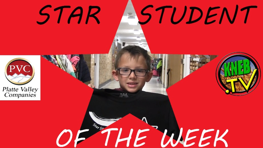 Mitchell Elementary's Camden Anderson named PVC Star Student of the Week