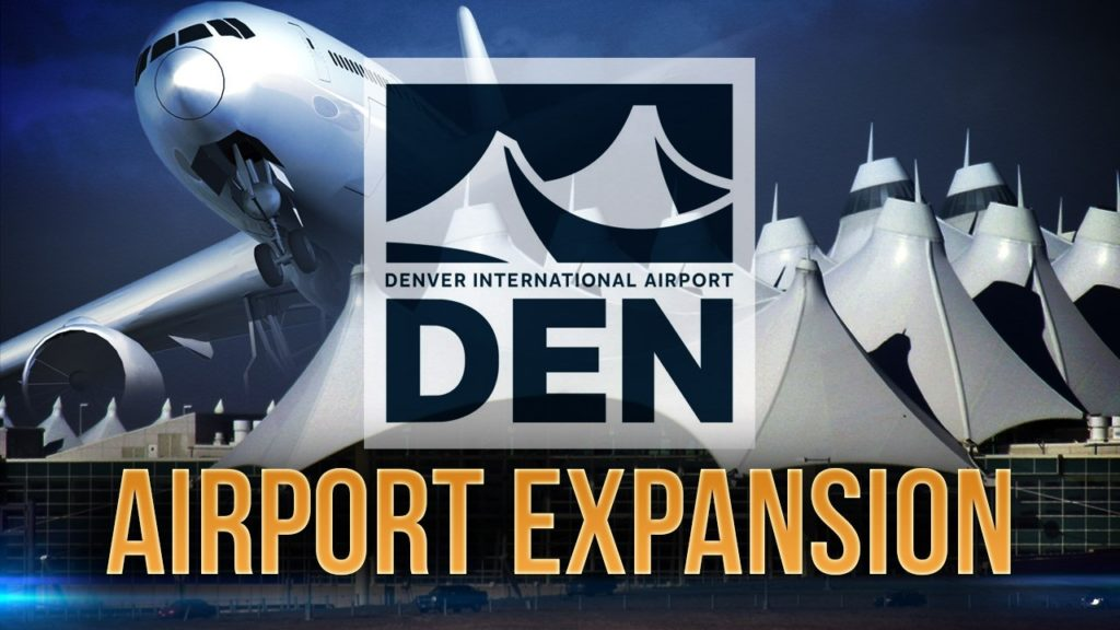 Denver airport adding 39 more gates by 2021