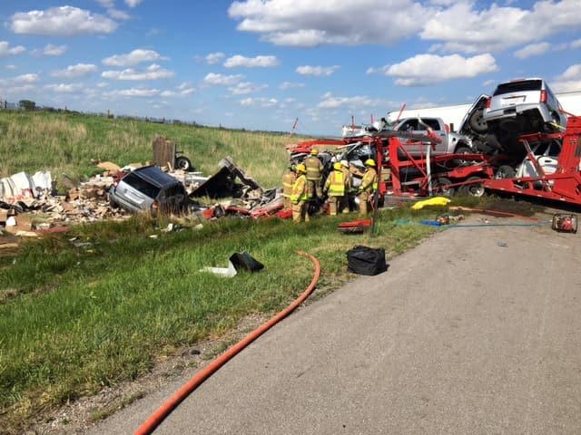 Authorities ID trucker killed in Nebraska I-80 collision