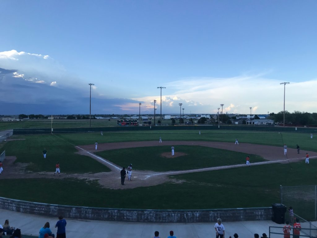 Legion baseball tonight on KNEB