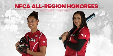 Nebraska's Jablonski, Simmons Earn NFCA All-Region Honors