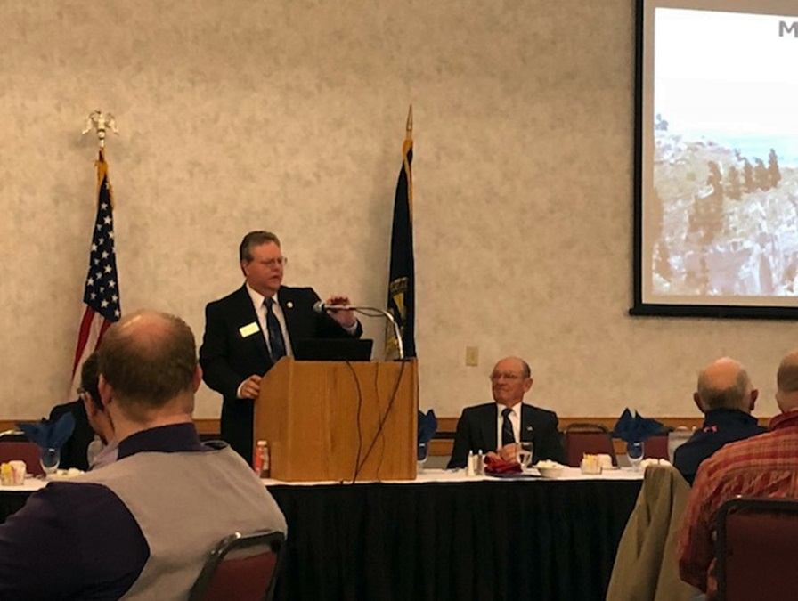 Meininger speaks about personal and community unity at Mayor's Prayer Breakfast