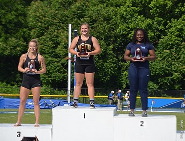 Dendinger wins National Championship in Hammer Throw