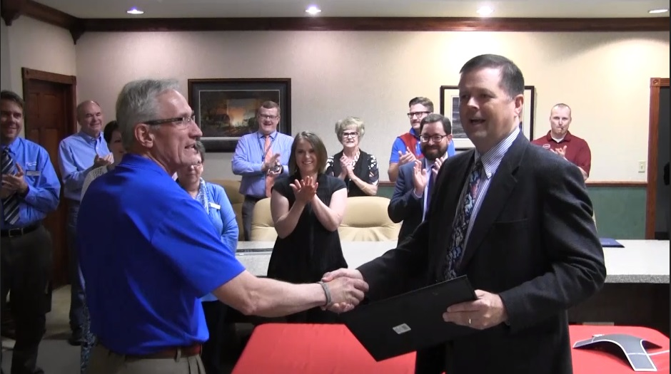 Mike Thompson named First State Bank's May Community Champion