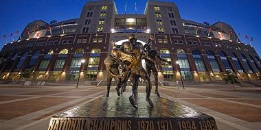 Kickoff Times Set for Six Nebraska Football Games