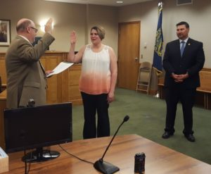 Clerk Magistrate for Dawson and Gosper County Courts sworn-in