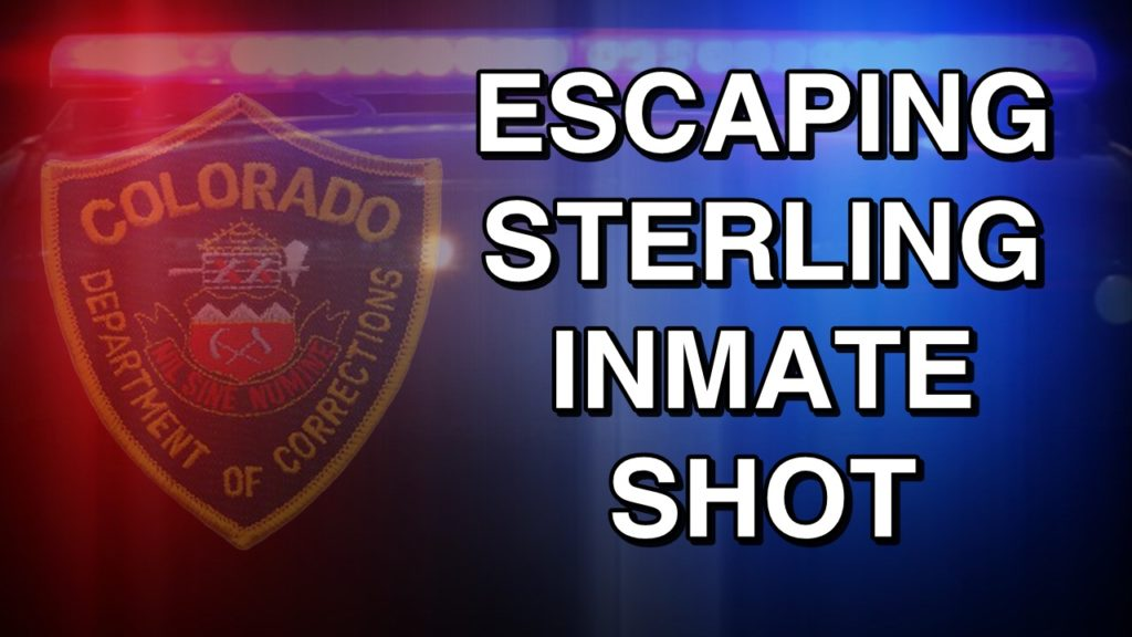 Colorado inmate shot trying to escape from courtroom