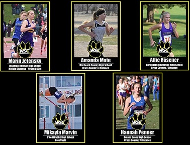 WSC women's track signs five more athletes during NCAA spring signing period