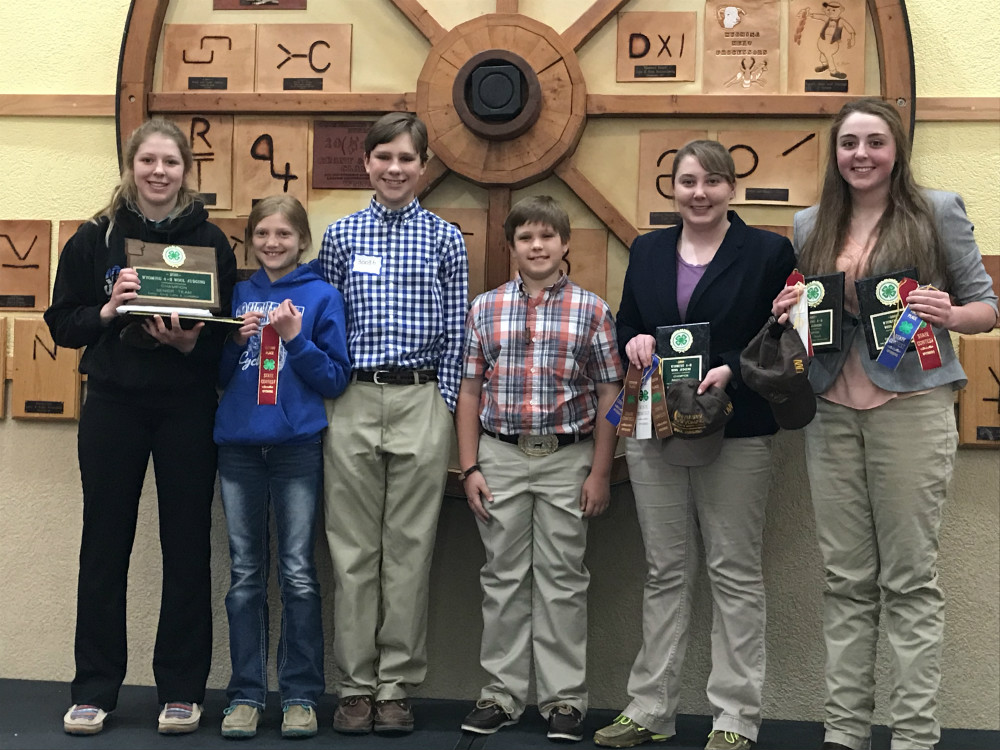 Goshen County 4-H bring home awards from annual Wool and Meats Judging contest