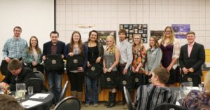 EWC Recognizes Agriculture Students at Annual Awards Banquet