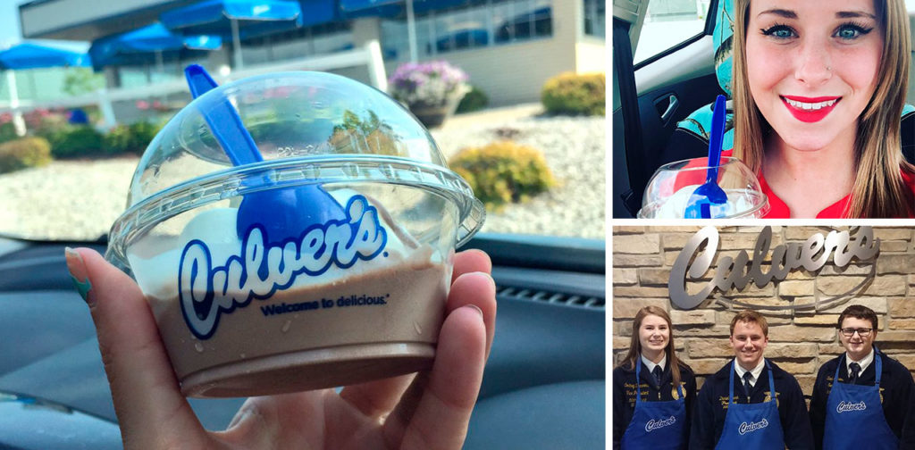 (Video) Culver's Scoops of Thanks Day Celebrates Future Generation of Ag