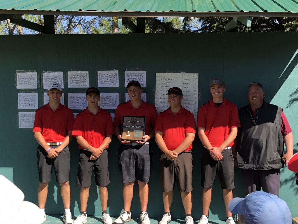 Kimball scorches field at C-5 District Golf Meet