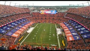 Denver Broncos' stadium gets a new, temporary name