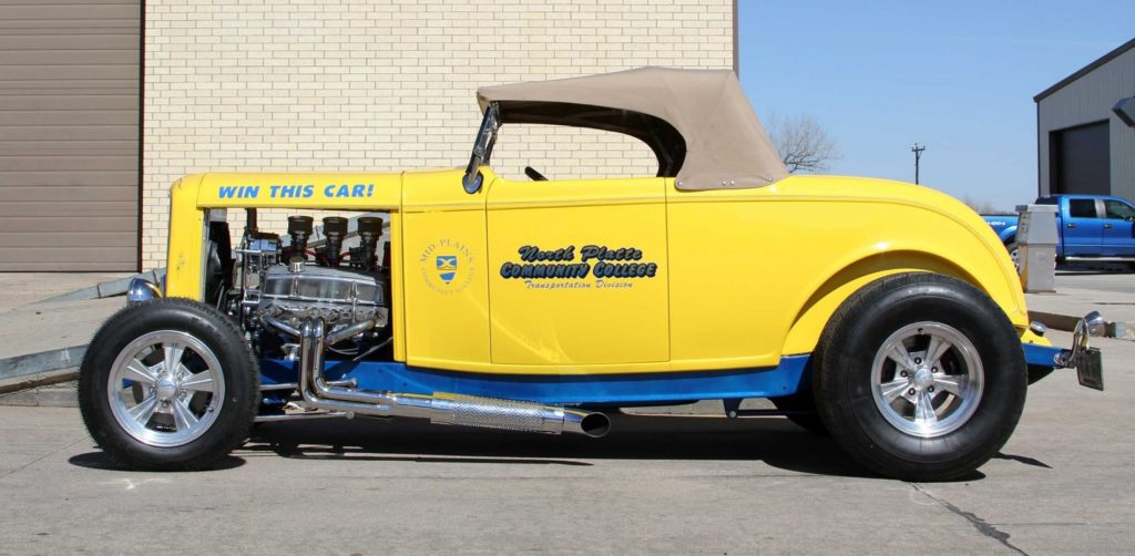 MPCC raffle car to be displayed in Gering this weekend during car show