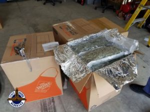 I-80 traffic stop leads to seizure of 290 pounds of marijuana and two arrests