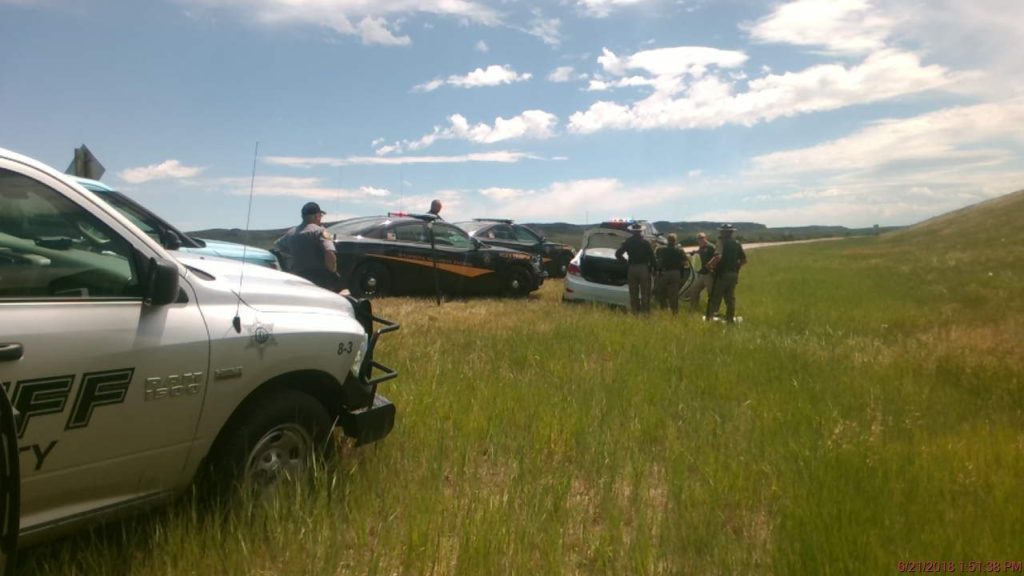 High speed pursuit in Eastern Wyoming ends safely