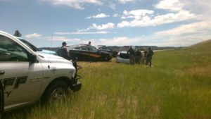 High speed pursuit in Eastern Wyoming ends safetly