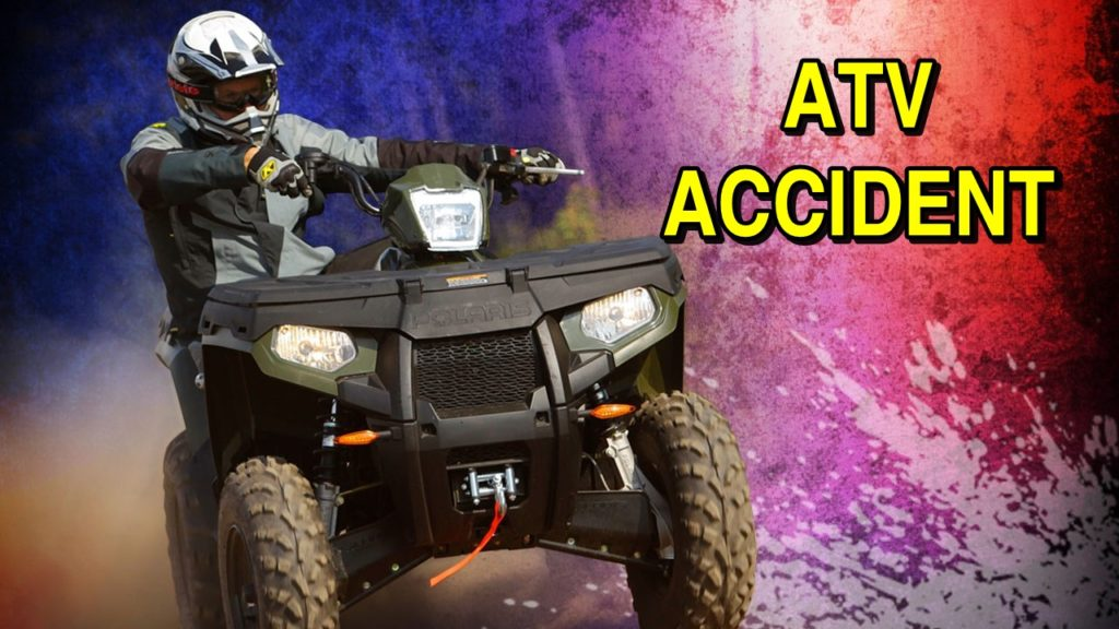 Authorities: ATV flipped over on driver when bull rammed it
