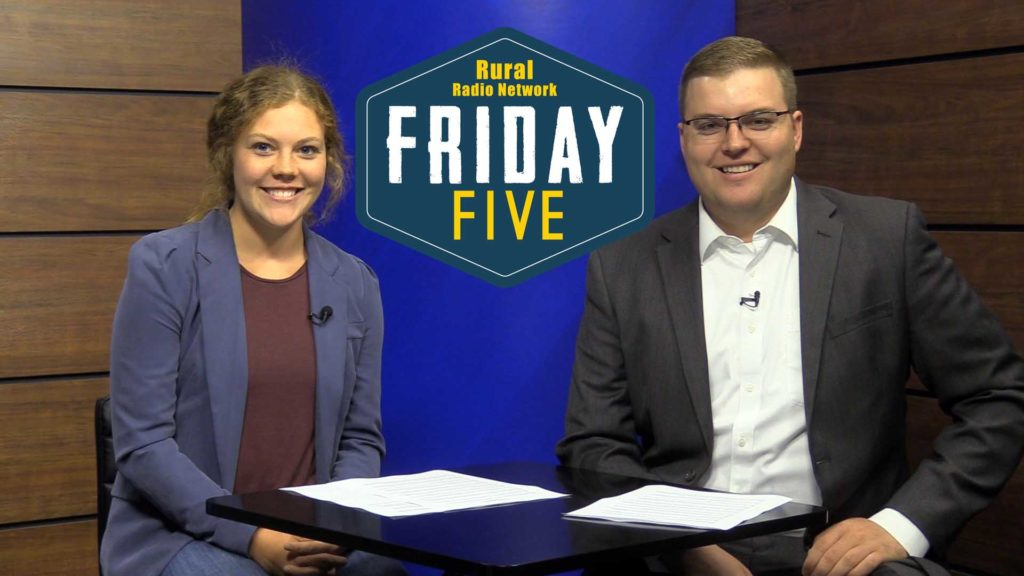 (Video) Friday Five- Top Stories in Ag (June 29, 2018)