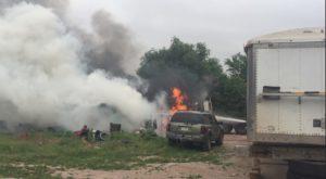 Rubbish barrel burn caused west Scottsbluff fire