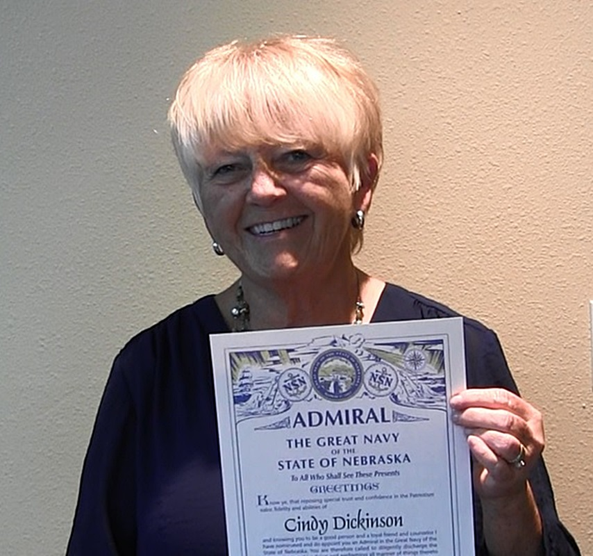 Cindy Dickinson honored for longtime service as Scottsbluff City Clerk