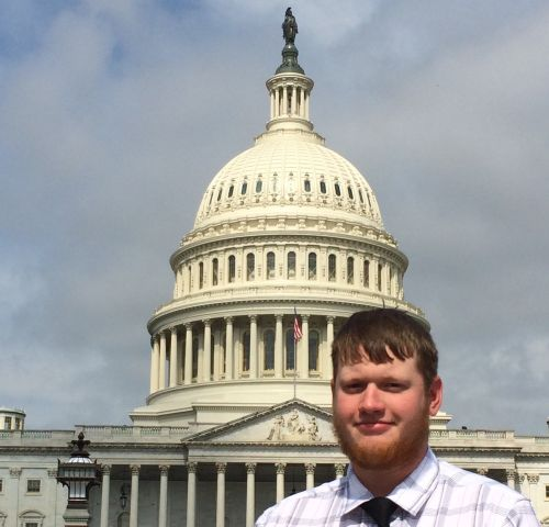 North Platte native Mitchell Walters participates in Washington, D.C. Youth Tour