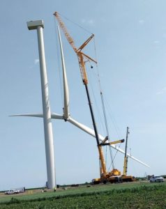 (Audio) Fillmore County Wind Farm Well Underway
