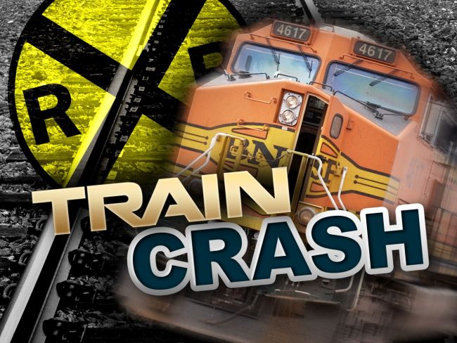 Hastings man dies when pickup collides with train